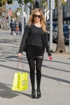 Ashley Tisdale going to shopping